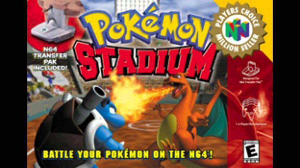 Pokemon Stadium N64 Verpackung