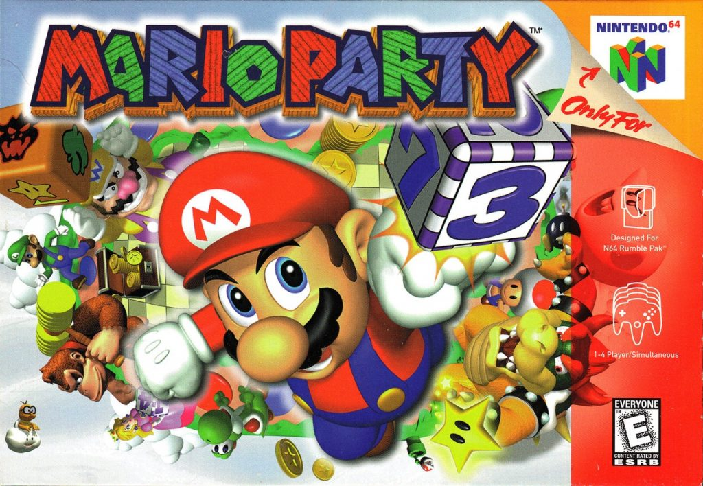 Mario Party N64 Verpackung