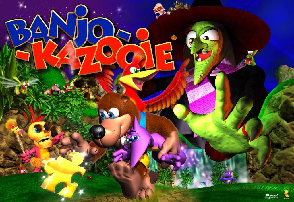 Banjo Kazooie N64 Cover