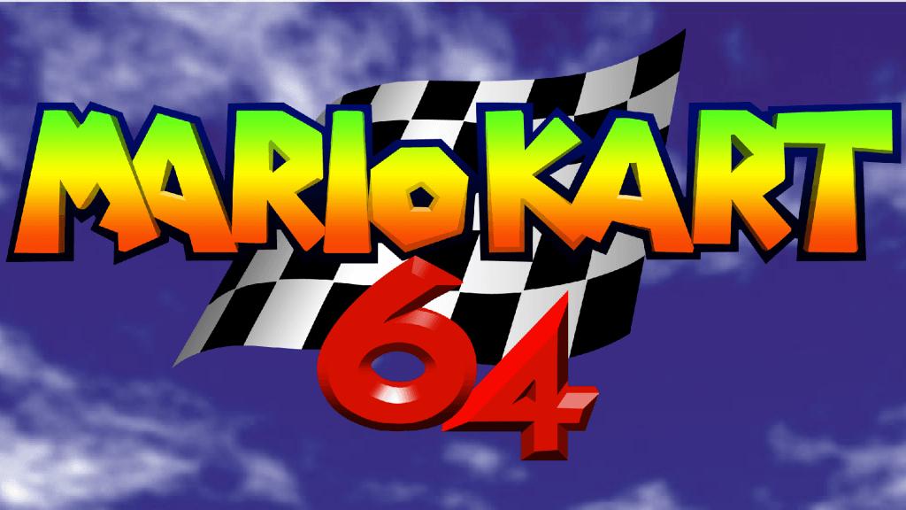 Mario Kart 64 N64 Logo