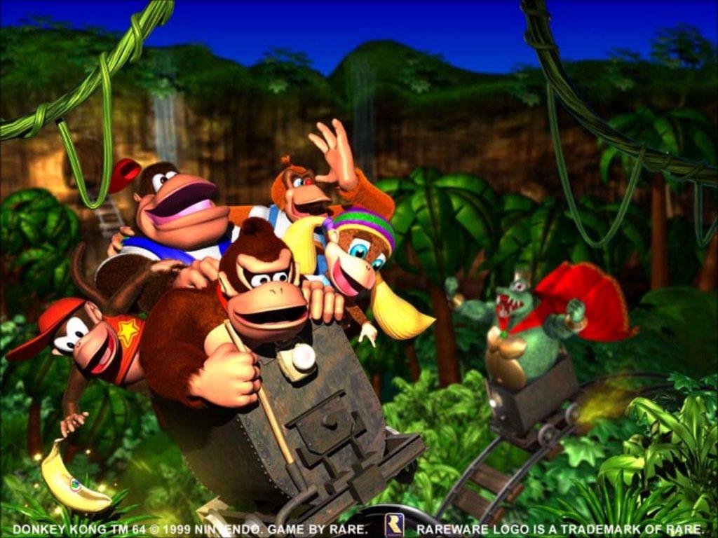 Donkey Kong 64 Artwork