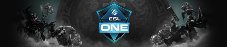 ESL One Hamburg Banner