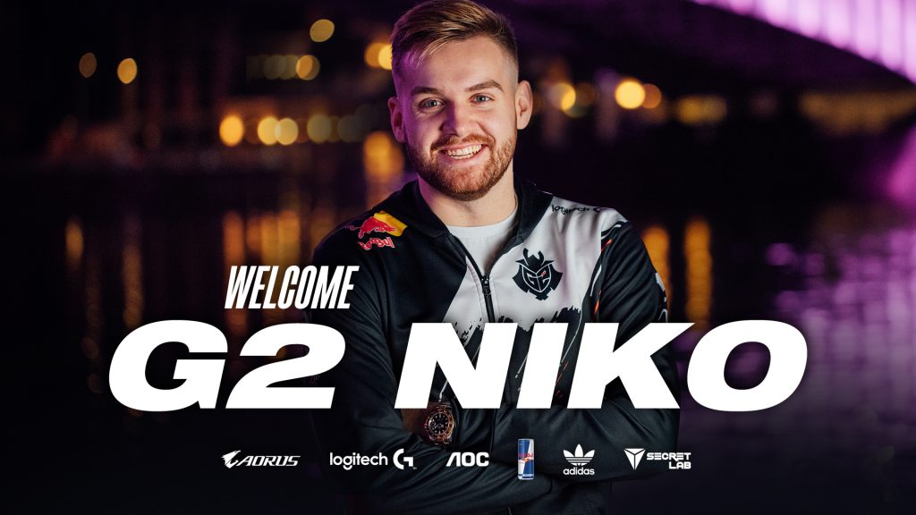 G2 Esports FaZe Clan Transfer NiKo