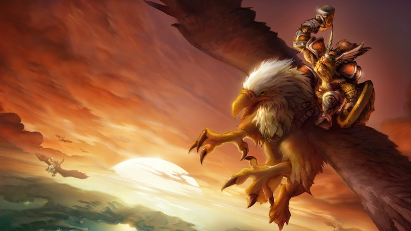 World of Warcraft Erstveröffentlichung Artwork